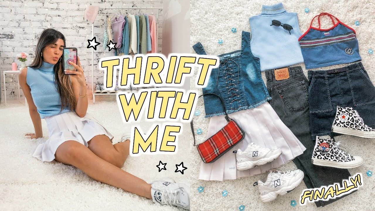 COME THRIFT WITH ME (finally!!!!) + HUGE SUMMER THRIFT HAUL