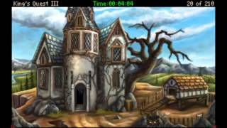 A King's Quest 3 Break: Taking out Manannan after the first journey