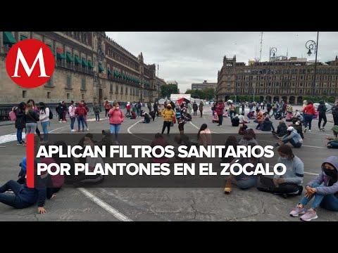 Entrevista, Félix Arturo Medina Padilla. Estado de salud de los manifestantes en Zócalo