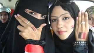 yemen music 2011 يوسف البدجي 2011 مشجعات خليجي 20 من بنات اليمن   YouTube