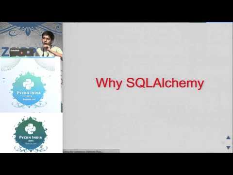 Image from Lightning Talk - Why SQLAlchemy - PyCon India 2015