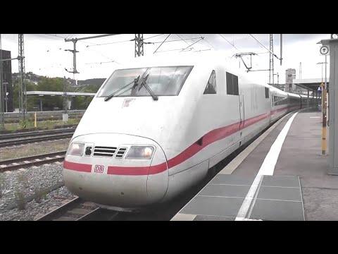 Die Fahrt mit dem ICE 1 von München nach Stuttgart