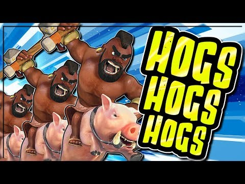 HOGS ATTACKING EVERYWHERE | TH11, TH10, TH9 HOGRIDER ATTACK STRATEGY | Clash of Clans