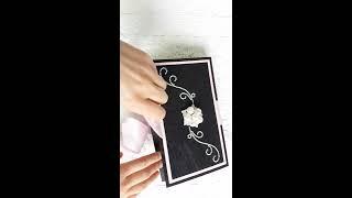 Коробочка для денег на свадьбу в стиле Dior