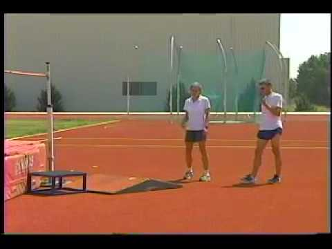Effective Practice Drills For The High Jump Youtube