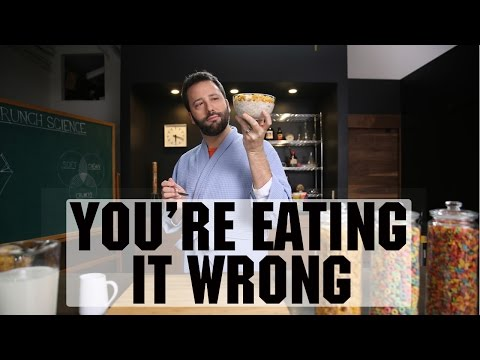 You're Eating Cereal Wrong | Food Network