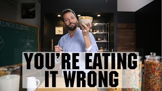 You're Eating Cereal Wr๐ng   Food Network