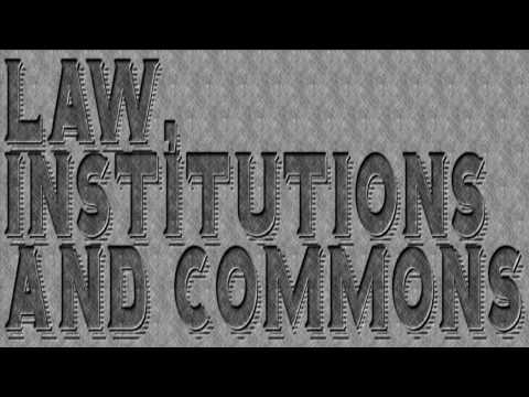 Seminar Law, Institutions and Commons with Filippo Valguarnera