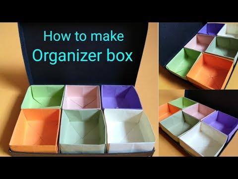 How to make organizer box | paper craft idea