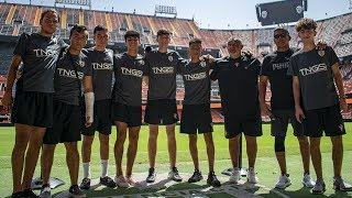 Arizona Soccer Players live the Spanish TNGS Experience