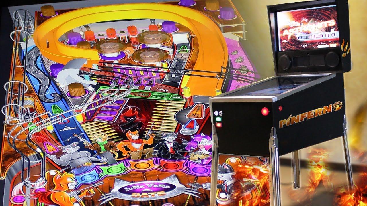 PINFERNO - The World's Only 3D Digital Virtual Pinball Machine