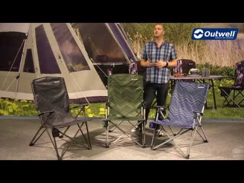 Outwell Harber Hills Camping Chair | Innovative Family Camping
