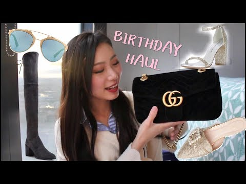 84c311eee4 Смотреть видео BIRTHDAY HAUL FT. Gucci Marmont