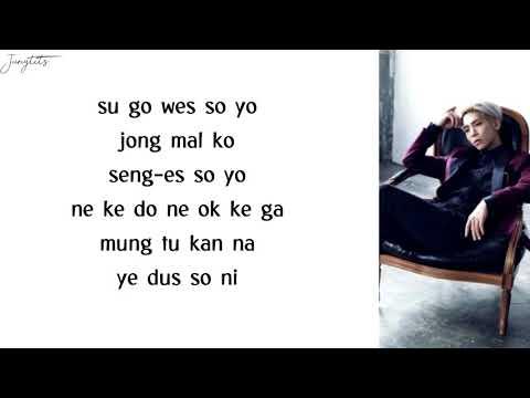 Jonghyun - End of a Day (EASY LYRICS)