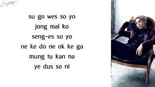 Jonghyun - End of a Day (EASY LYRICS) Mp3