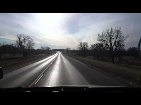 BigRigTravels LIVE-Belle Fourche to Murdo, South Dakota Sat Mar 05 08:06:30 MST 2016