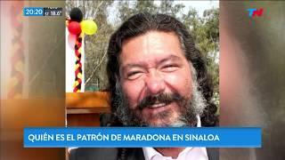 ¿Quién és el patrón de Maradona en Sinaloa?
