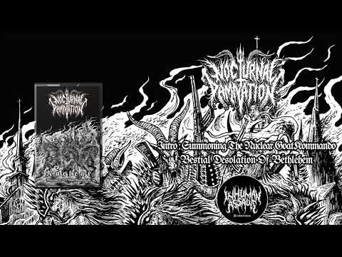 Nocturnal Damnation - Intro & Bestial desolation of bethlehem (Official Track)