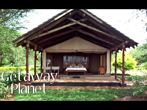 Ashnil Aruba Lodge, Tsavo East. Kenya || Travel Vlog