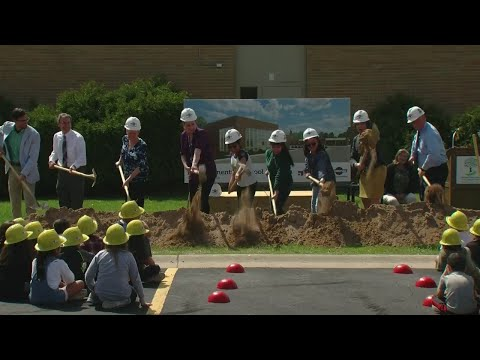 Danz Elementary School Groundbreaking
