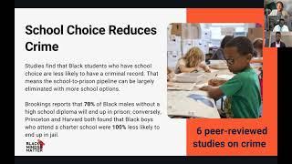 Black Minds Matter: A New Message on School Choice