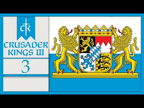 The Siege War - Bold Bavarians - Let's Play Crusader Kings 3 - 3 |