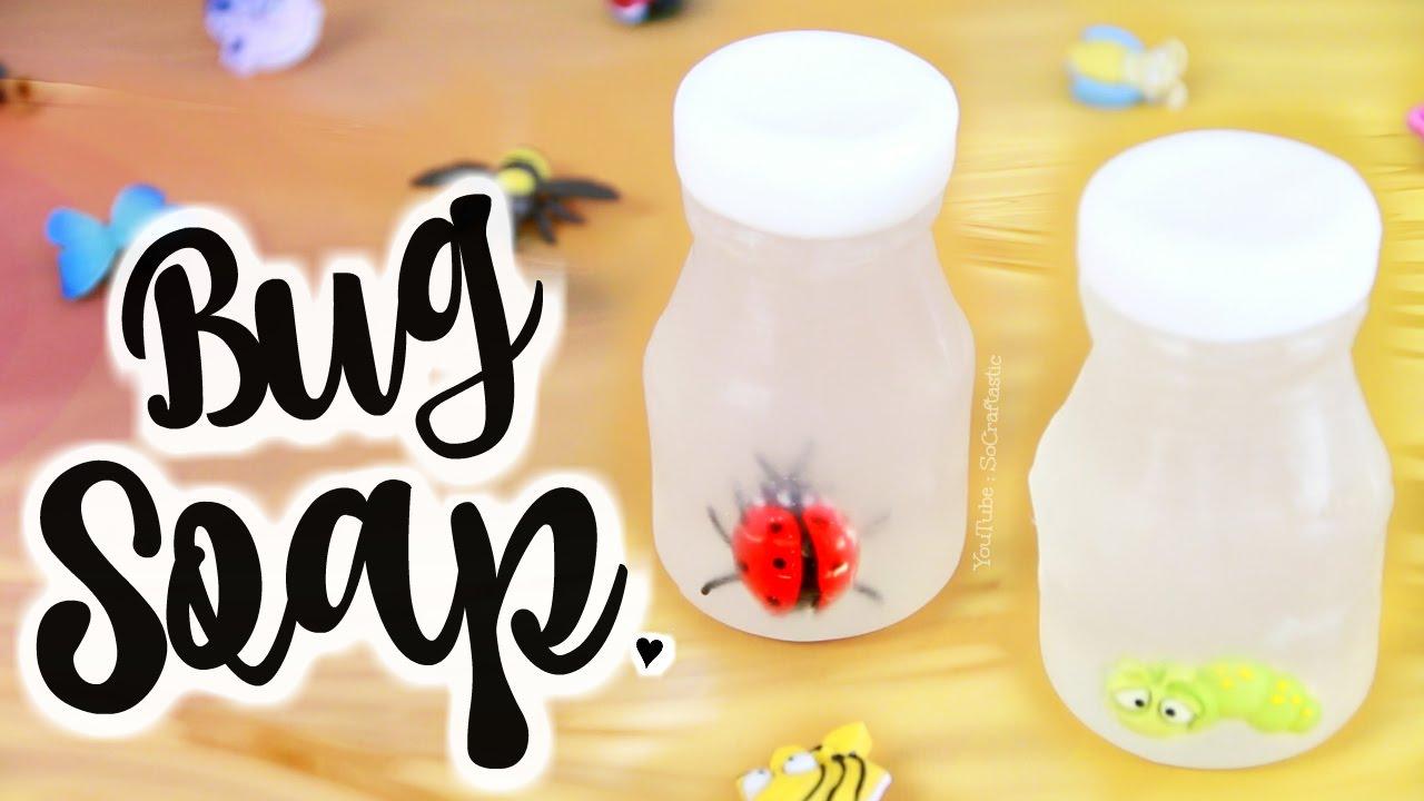 DIY BUG in a Jar SOAP - Soap Making For Beginners | SoCraftastic