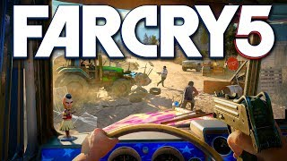 ► SECRET GAMEPLAY DETAILS - Far Cry 5 (Gameplay Footage + First Impressions)