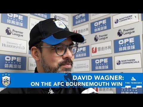 WATCH: David Wagner reflects on the 4-1 win over AFC Bournemouth