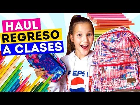 HAUL ÚTILES PARA REGRESO A CLASES | MIS SEGUIDORES DECIDEN | Daniela Golubeva