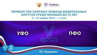 Хоккейный матч. 11.11.19. «УФО» - «ПФО»
