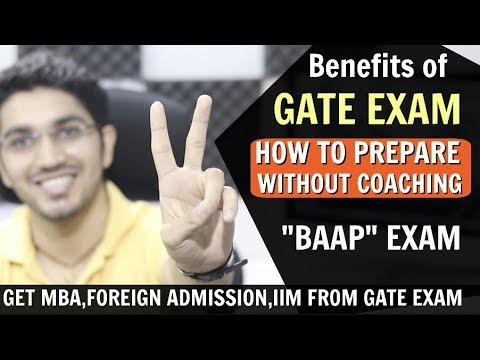 Benefits Of GATE EXAM | How To Prepare WITH Or WITHOUT Coaching?