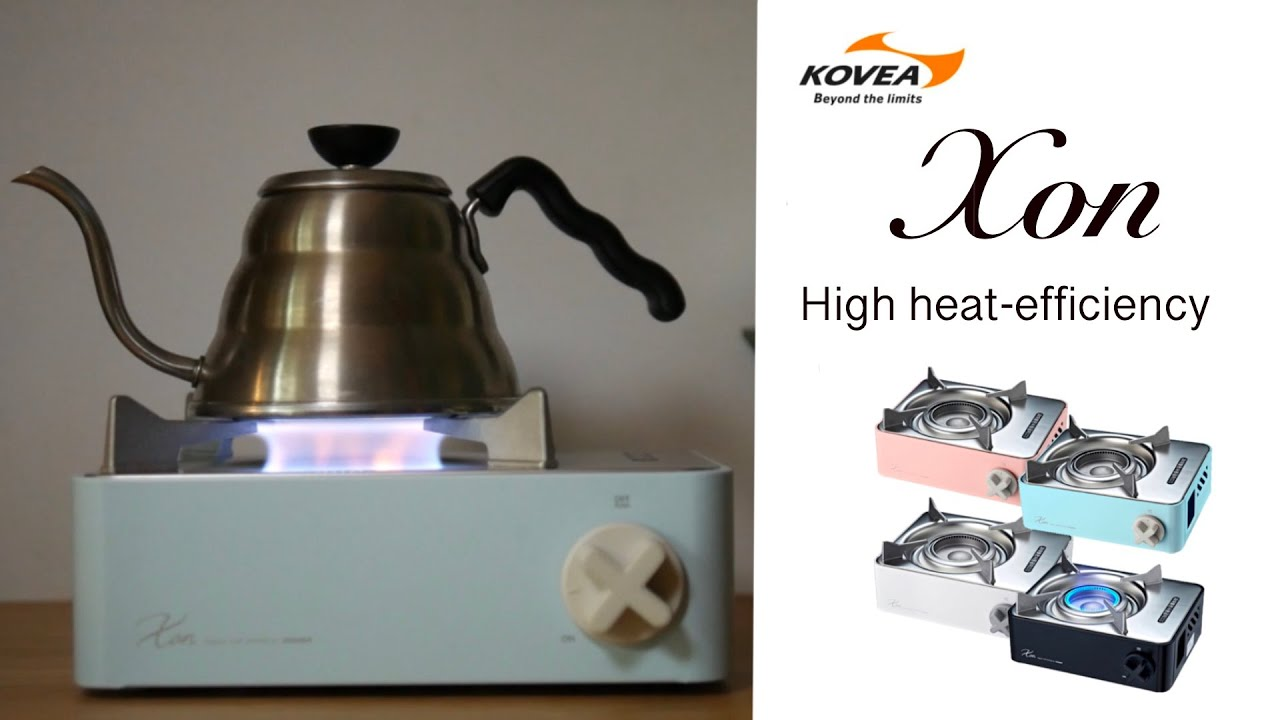 KOVEA Xon High heat-efficiency ประสิทธิภาพการเผาไหม้