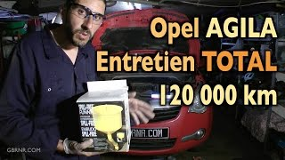 ✅  Entretien Complet 🚗   Opel Agila 120000 km