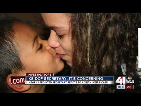 KS DCF secretary speaks on Adrian Jones' case
