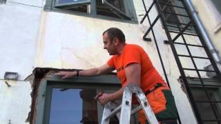 монтаж  окон в доме которому 375 лет  АМСТЕРДАМ installation of windows in the house(, 2013-05-30T06:22:08.000Z)