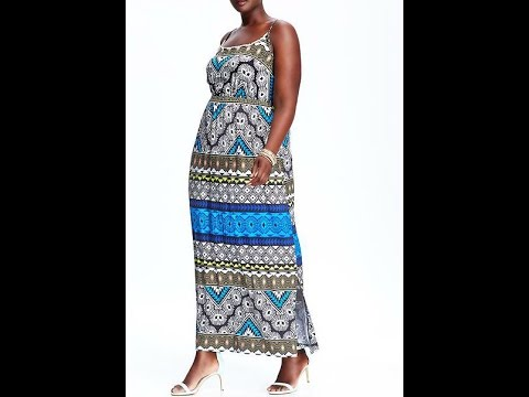 Top 5 Plus Size Old Navy Summer Maxi Dress Picks!