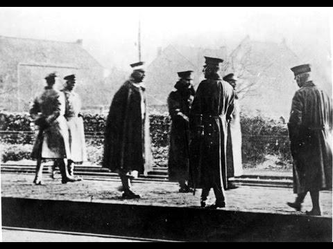 Kaiser Wilhelm II : Escape to The Netherlands (1918)