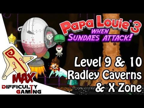 Papa Louie 2: When Burgers Attack! Rescuing Foodini