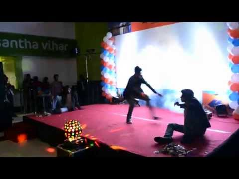 Family day dance at Hapag Lloyd