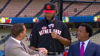 2017 WBC Pre Game: Kenley Jansen interview with MLB