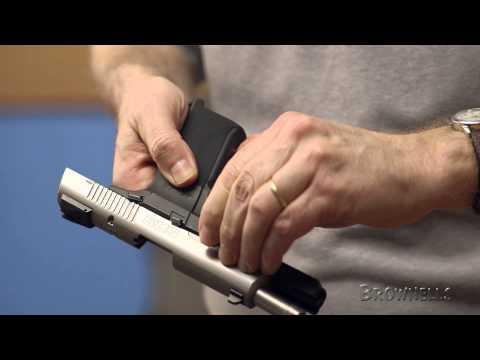 Firearm Maintenance: Ruger SR-9 Disassembly — Part 1/4