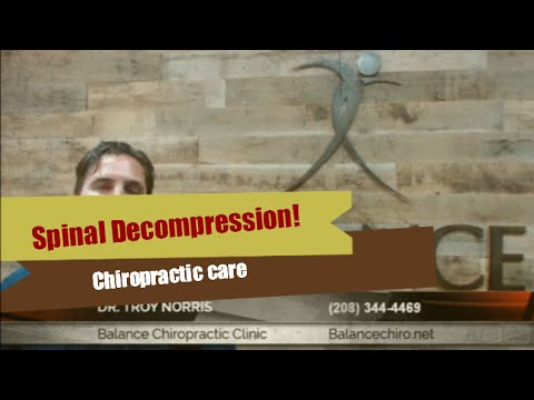 Best Chiropractor for Spinal Decompression in Boise Idaho | (208) 344-4469