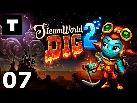 [RU] SteamWorld Dig 2 - 07 Digging deeper.  