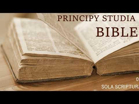 01 Sola Scriptura