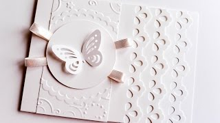How to Make - Wedding First Communion Greeting Card - Step by Step | Kartka Ślubna Komunijna