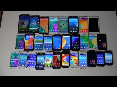My Samsung Phones!