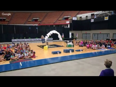 2017 US National Dance Twirl Teams and Trios Awards