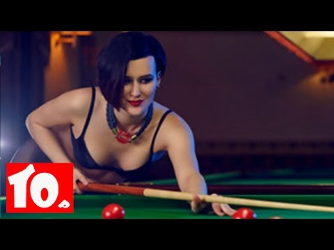 Top 10 Sexiest Female Pool Players 2