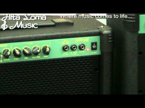 Guitar Amplifiers Rancho Cucamonga CA - Alta Loma Music Stagg Amplifier Part1